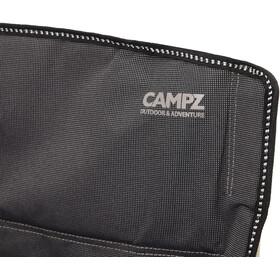CAMPZ Lounger Silla Plegable con Reposapiés, anthracite